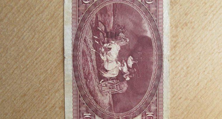 100 forint , Vengrija , 1989