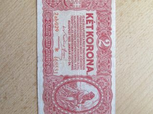 2 korona , Vengrija , 1920