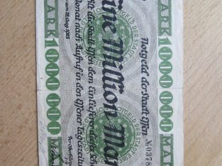 1 milijonas mark , Effen Vokietija , 1923