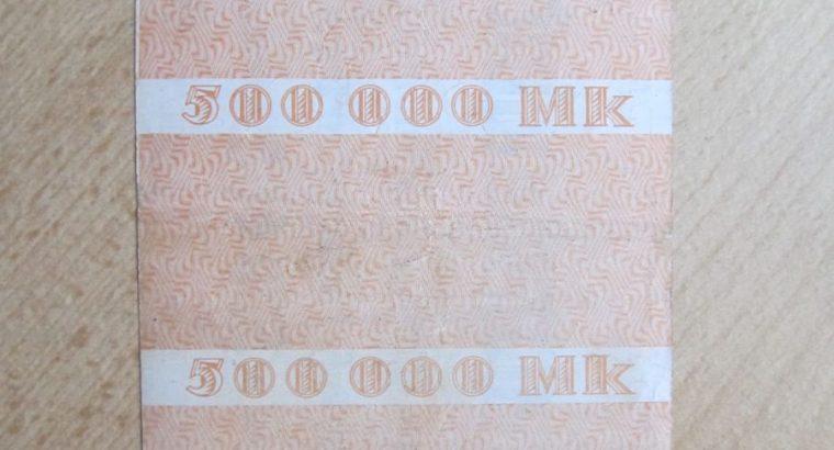 500 000 mark , Essen Vokietija , 1923