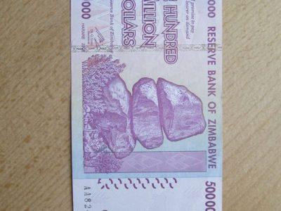 500 milijonu doleriu , Zimbabvė , 2008