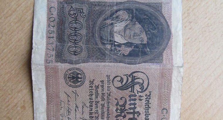 5000 mark , Vokietija , 1922 didelis