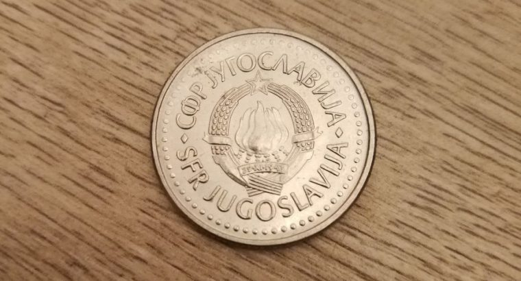 10 Jugoslavijos dinaru moneta