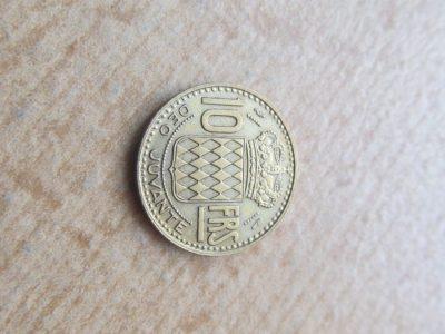 10 franku , Monakas , 1951