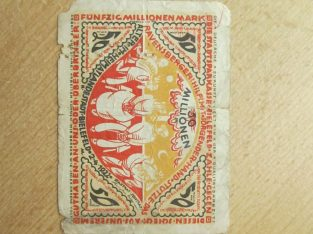 50 milijonu markiu , Bylefeldas Vokietija , 1922