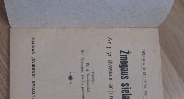 ŽMOGAUS SIELA , KAUNAS , 1928