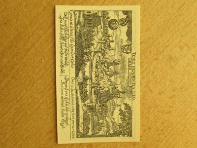 Notgeldas 25 pfennig , Diez Vokietija , 1920