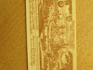 Notgeldas 50 pfennig , Diez Vokietija , 1920
