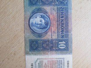 10 kronu , Austro Vengrija , 1915