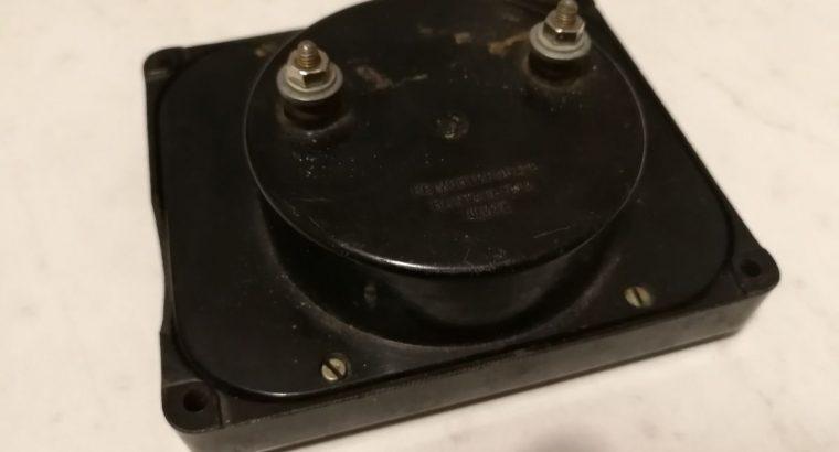 analoginis mikroampermetras iki 200uA