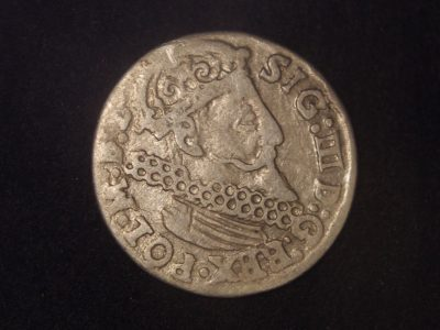 Zigmanto III vazos trigrašis LDK moneta