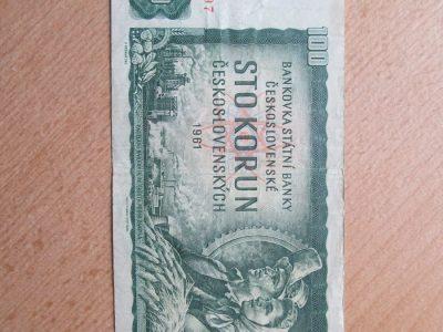 100 korun , Čekoslovakija , 1961