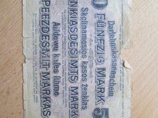 50 ost markiu , Lietuva , 1918