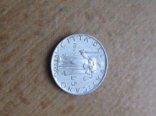 5 liros , Vatikanas , 1953