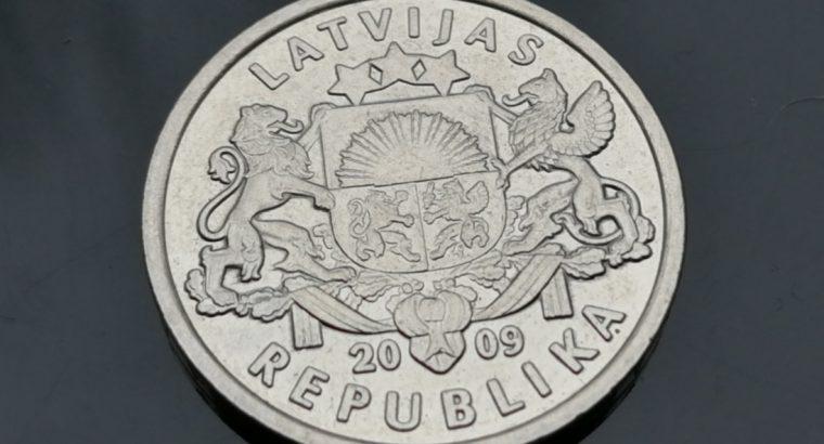 Progine vieno lato moneta 2009