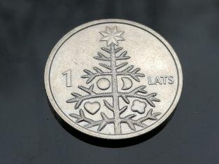Progine vieno lato moneta 2009 Su Kaledine eglute