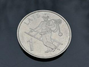 Progine vieno lato moneta 2008 su kaminkreciu