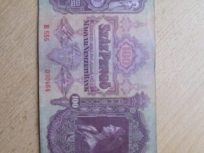 100 pengo , Vengrija , 1930