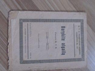 DARYKITE ATGAILĄ , PANEVĖŽYS , 1932