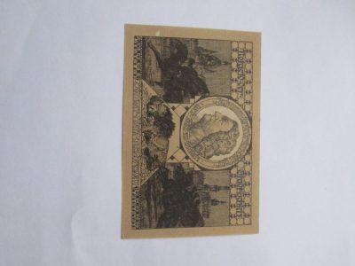 Notgeldas 50 pfennig , Schleiz Vokietija , 1921