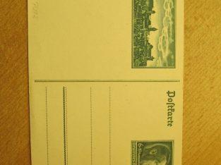 Atvirlaiškis , pašto ženkle Hitleris , 1938