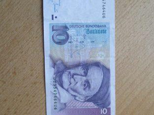 10 mark , Vokietija , 1993