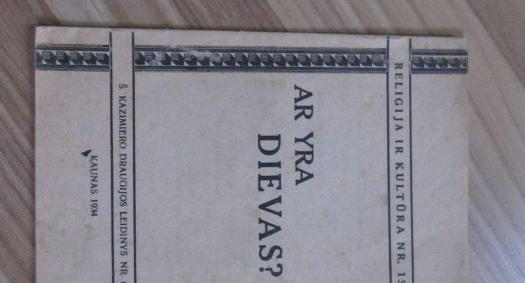 AR YRA DIEVAS , KAUNAS , 1934