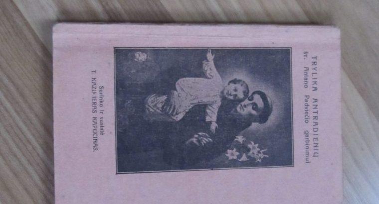 TRYLIKA ANTRADIENIŲ , 1924
