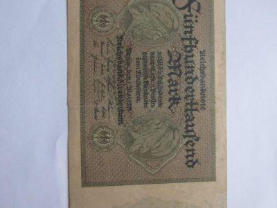 500000 mark , Vokietija , 1923