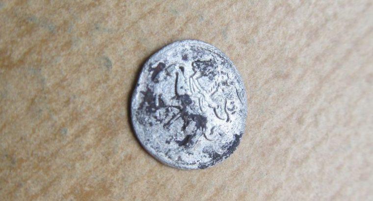 2 denarai , Žygimantas Augustas , 1566 sidabras