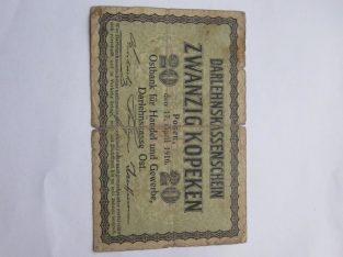 20 ost kapeiku , Lietuva , 1916