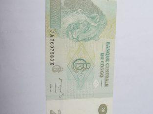 20 francs , Kongas , 2003 unc