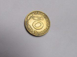 10 reichspfennig , Vokietija , 1937 D