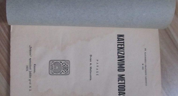 KATEKIZAVIMO METODAS. , 1923