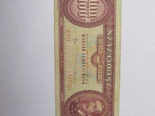 100 forint , Vengrija , 1984