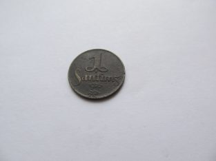 1 santims , Latvija , 1926