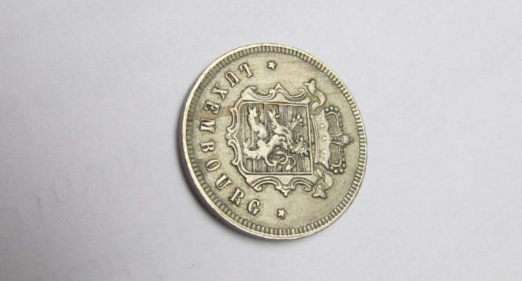25 centimes , Liuksemburgas , 1927