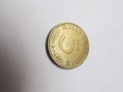 5 reichspfennig , Vokietija , 1939 B