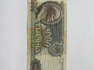 1000 rubliu , Rusija , 1992 Leninas