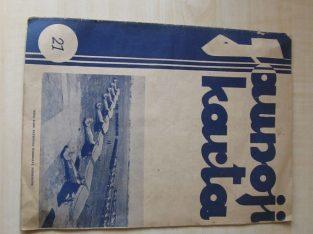 JAUNOJI KARTA , 1935 / 21
