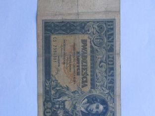 20 zlotu , Lenkija , 1931