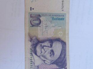 10 mark , Vokietija , 1991