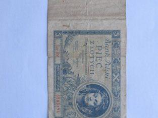 5 zlotych , Lenkija , 1930