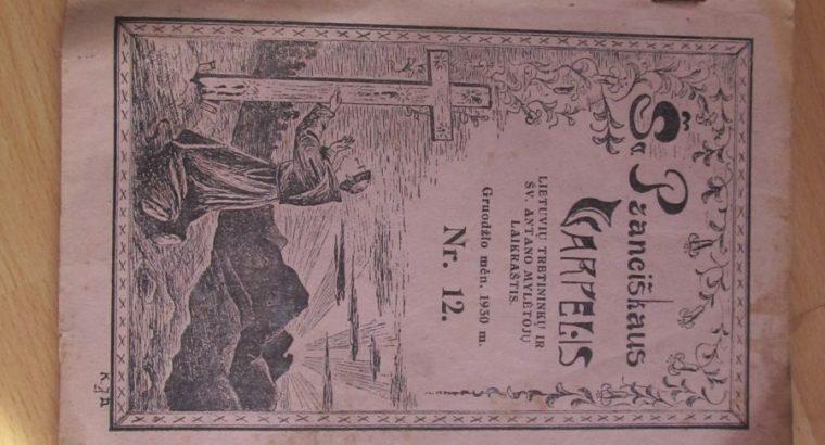 ŠV. PRANCIŠKAUS VARPELIS , 1930 / 12