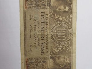 100 ost markiu , Lietuva , 1918