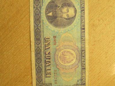 100 lei , Rumunija , 1966