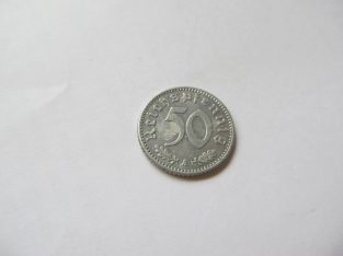 50 reichspfennig , Vokietija , 1941 A