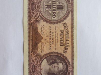 1 milijardas pengo , Vengrija , 1946