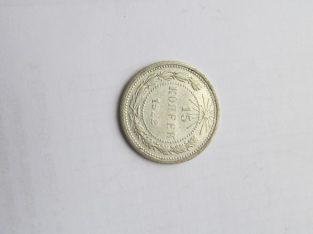 15 kapeiku , Rusija , 1922 sidabras