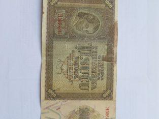 1000 kuna , Kroatija , 1941